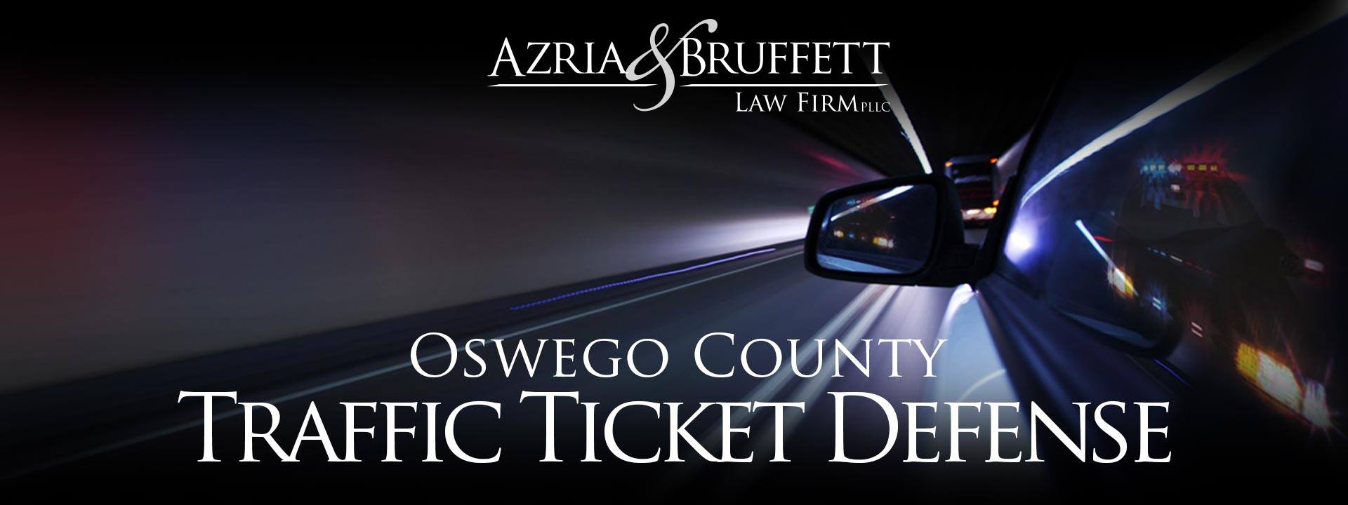 Oswego New York Speeding Ticket Attorneys